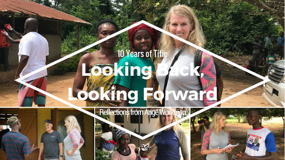 10 Years of Tifie Looking Back, Looking Forwad: Reflections from Angé Workman