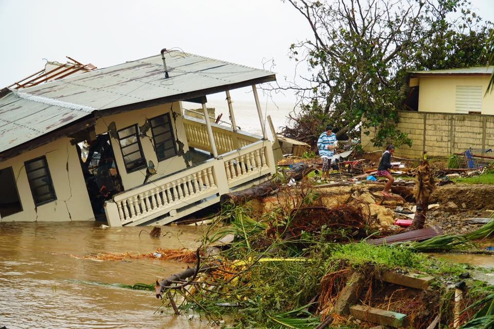 HELP LOCAL NONPROFITS BRING POWER AND SHELTER TO VICTIMS OF HURRICANE MARIA